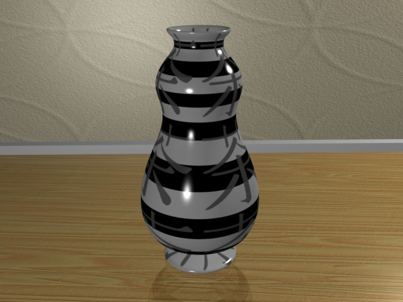 free blend model vase