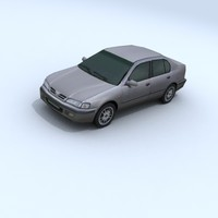3d model nissan primera vehicle car