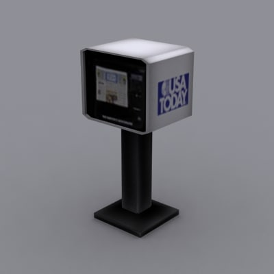 newspaper vending machine 3ds
