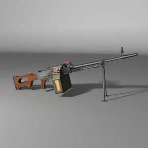 russian pkm machine gun max