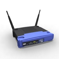 3d linksys router