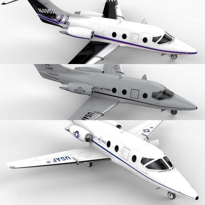 t-1 jayhawk sets jet 3d model