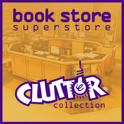 book store - superstore 3d lwo