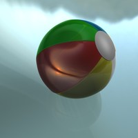 cinema4d beach ball
