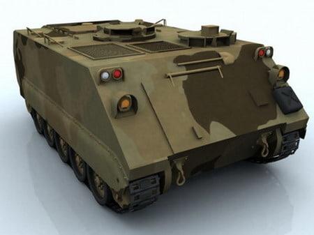 m113 tank 3d model