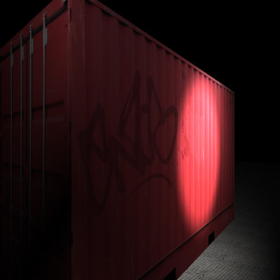 3d model scene container