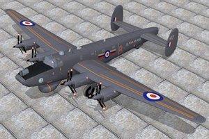 3d avro shackleton aew2 model