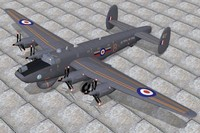 avro shackleton aew2 3d model
