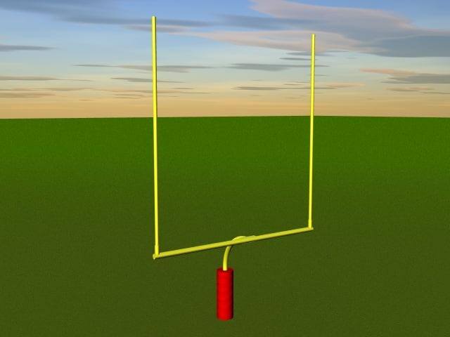 football field goal post lwo