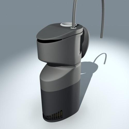 fish tank filter 3d model
