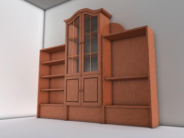 3d model wall unit