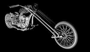 3d model bike ghostrider