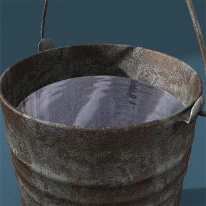 bucket 3d lwo