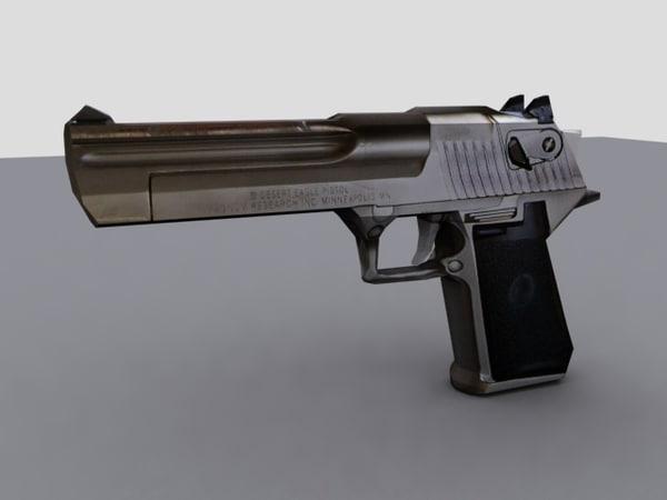 desert eagle 3d model