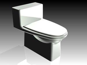 toilet inventor ipt 3d model