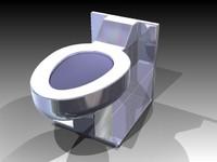 toilet inventor igs 3d model