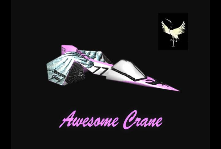 awesome crane 3d ma
