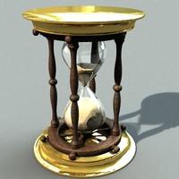 3d model hourglas