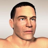 maya realistic male