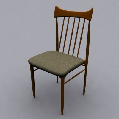 john keal chair 3d 3ds