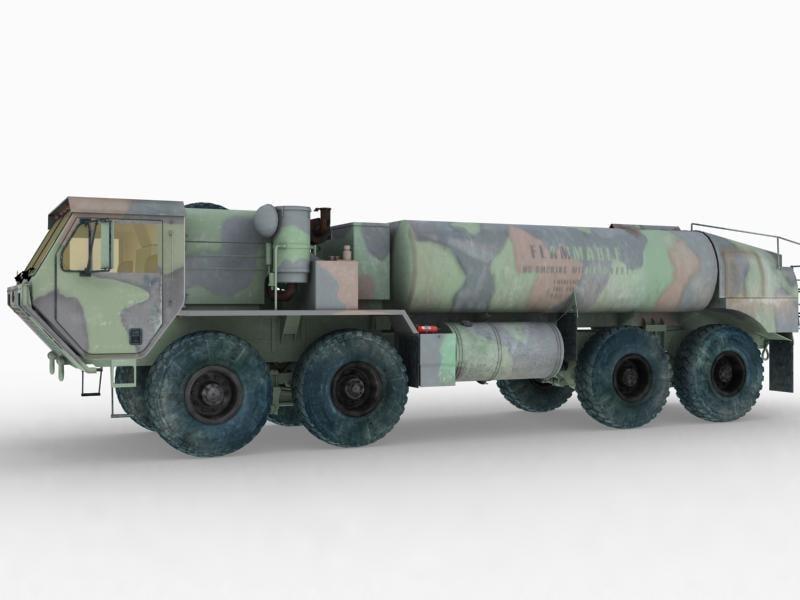 hemtt fueler 3d model