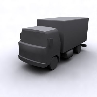 max delivery truck