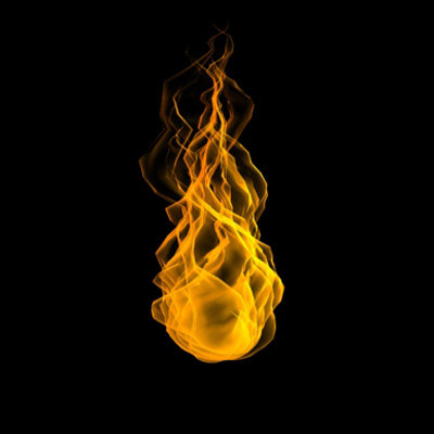 3d flame
