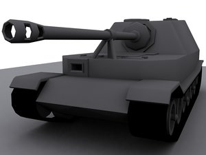 max ferdinand-elefant tank gun ferdinands