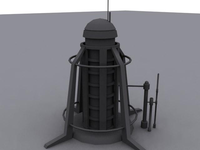3d factory future model