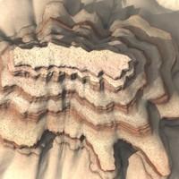 canyon modeled 3d model
