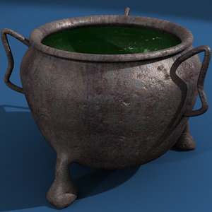 lightwave cauldron pot