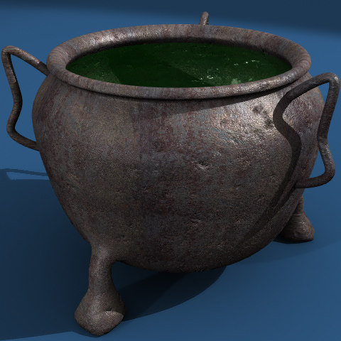 lightwave cauldron pot