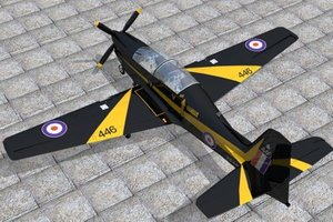 trainer shorts tucano 3d model