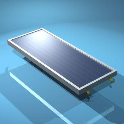 solar panel 3ds