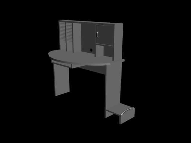 3d uter desk