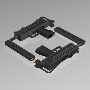 3d 380 acp smg model