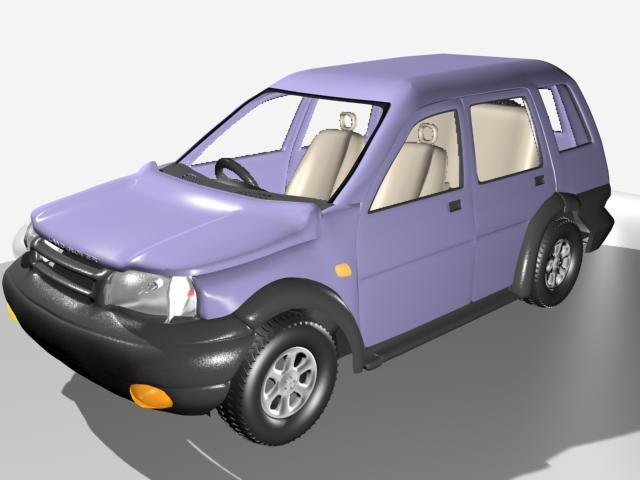 cars 3d max