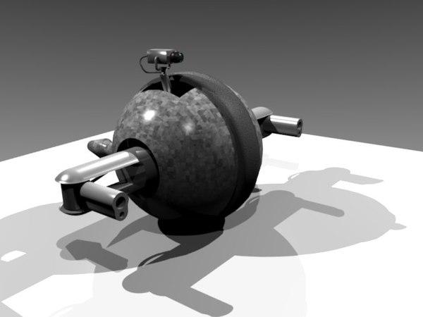 maya ball droid zipped