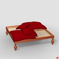 3d sofa otooman