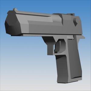 50 ae pistol 3ds