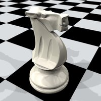 3dsmax horse chess