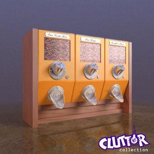 3d coffee dispenser model