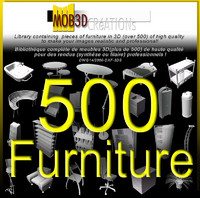furniture 500 3d model