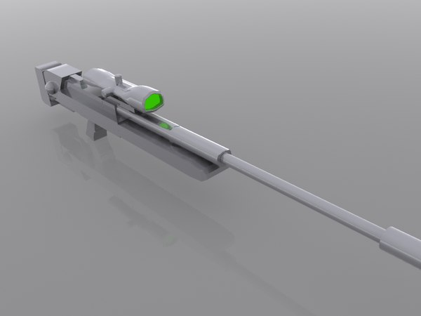 steyr rifle 3d model