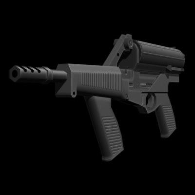 3d 9 mm smg m960