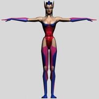 women 3d model