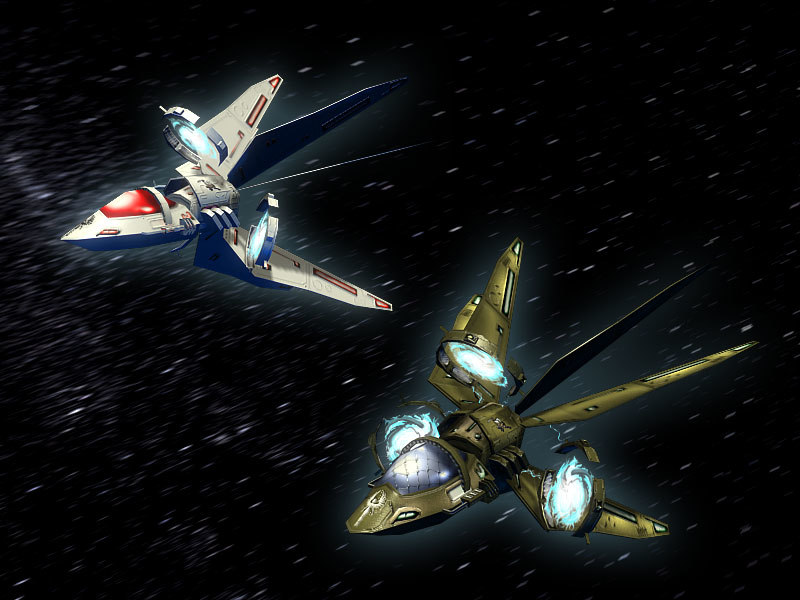 holy angels space interceptor 3d max