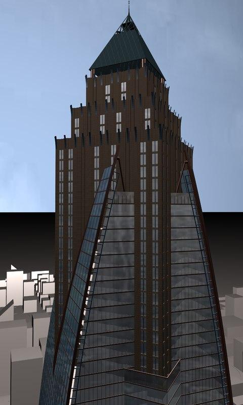 building tall 3d model