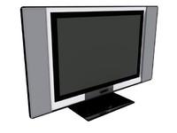 3d model plazma tv