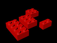 lego bricks 3ds